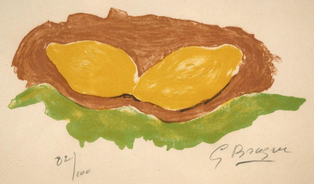 Litografia a colori, 1954, tirata a 100 esemplari numerati  firmati a matita. Cfr. D.Vallier n.88